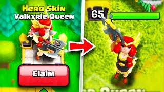"*UNLOCK* NEW MAX TIER ""VALKYRIE"" ARCHER QUEEN SKIN!🔓 