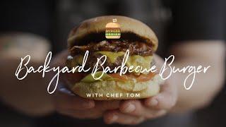 Backyard Barbecue Burger
