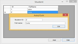 C# Tutorial - How to Get value from another Form | FoxLearn
