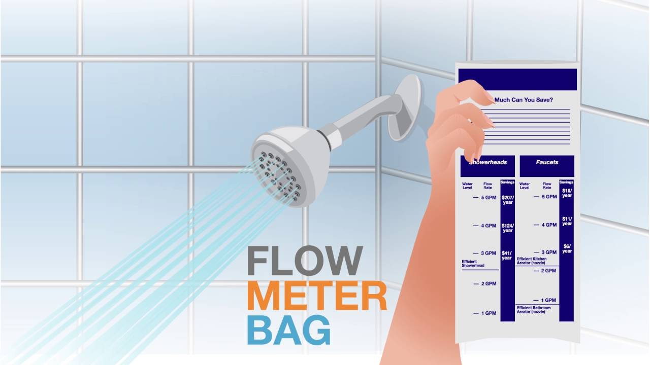 See How Much Your New Efficient Showerhead Or Aerator Can Save.