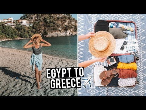 Flying from Egypt to Greece | EgyptAir First Time Experience
