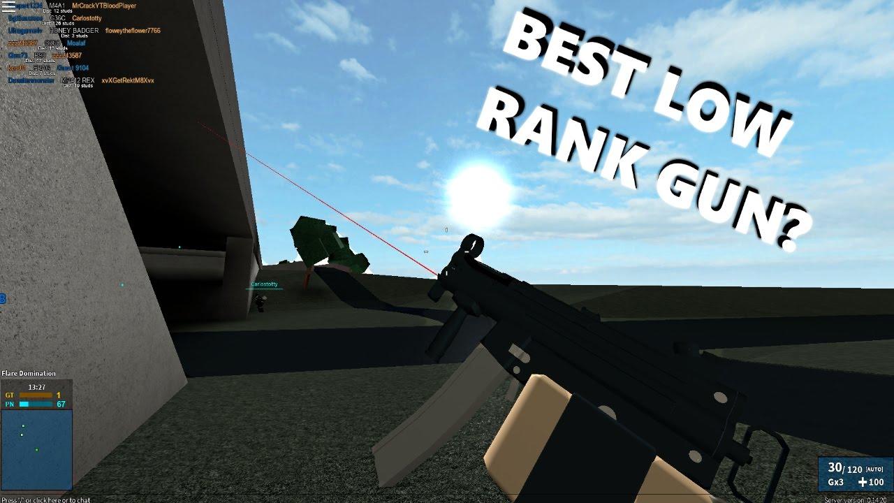 Best Low Rank Gun ?   Phantom Forces - YouTube