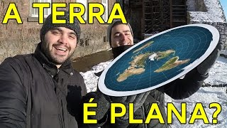 A TERRA É PLANA? | Matemática Rio feat. Canal do Mundo