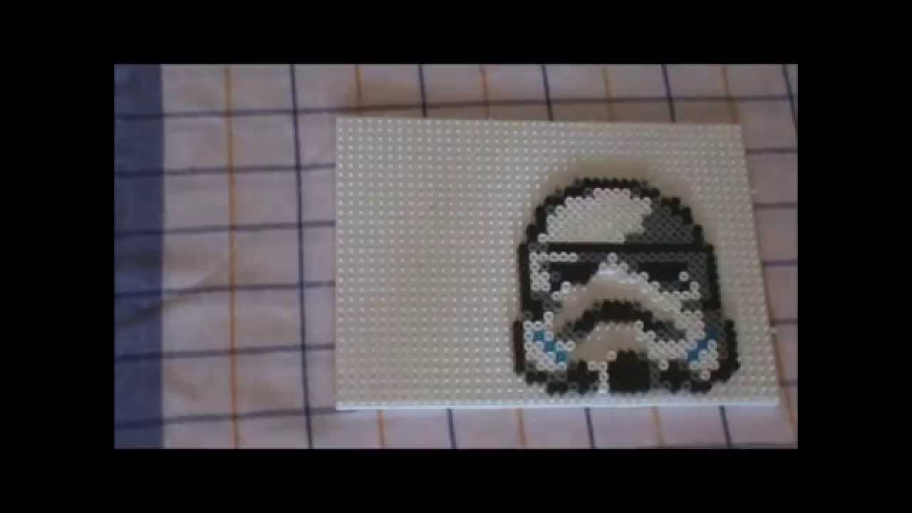 Stormtroopers Star Wars Hama Beads By Pixtille Basteln