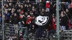 Ausschreitungen und antisemitische Parolen bei Fußballspiel in Potsdam-Babelsberg