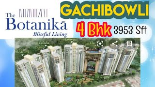 4 BHK APARTMENT IN  GACHIBOWLI, HYDERABAD INDIA