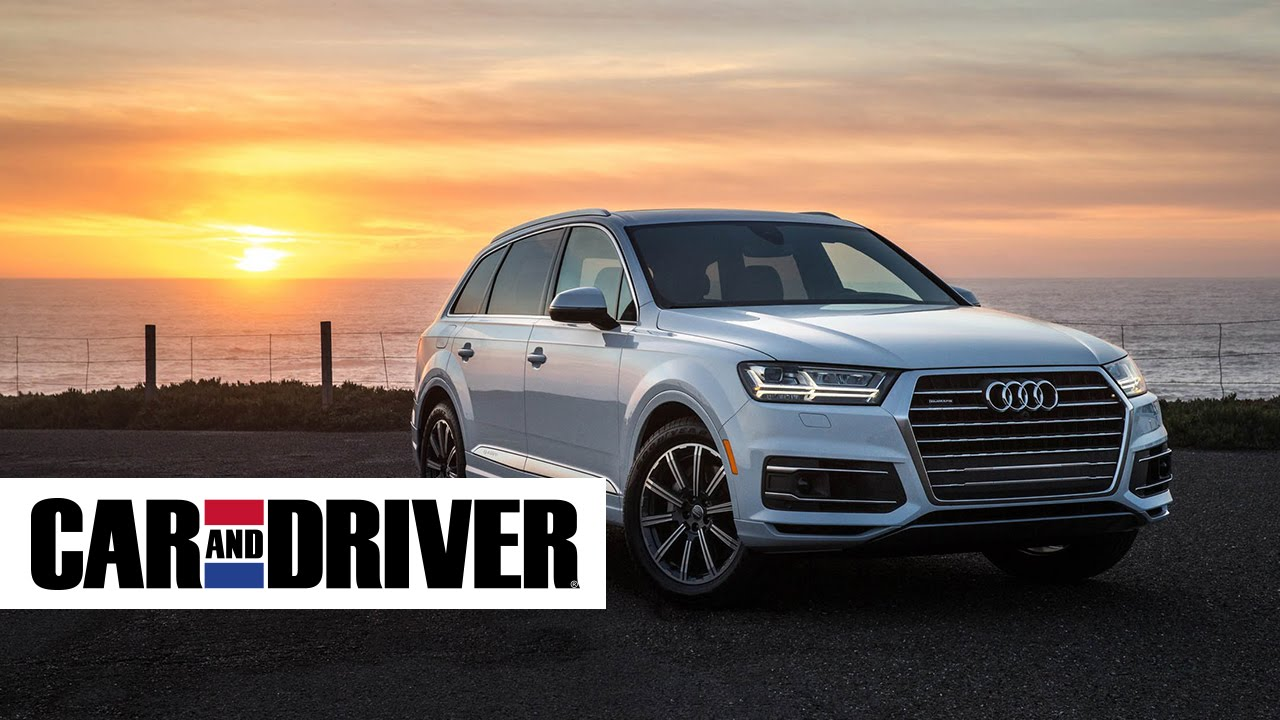 Audi Q7 Review In 60 Seconds Car And Driver