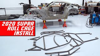 2020 Drift Supra CAD Designed Roll Cage Install and Fabrication