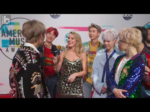 Billboard: BTS Talk About Their History Making Performance at the 2017 AMAs