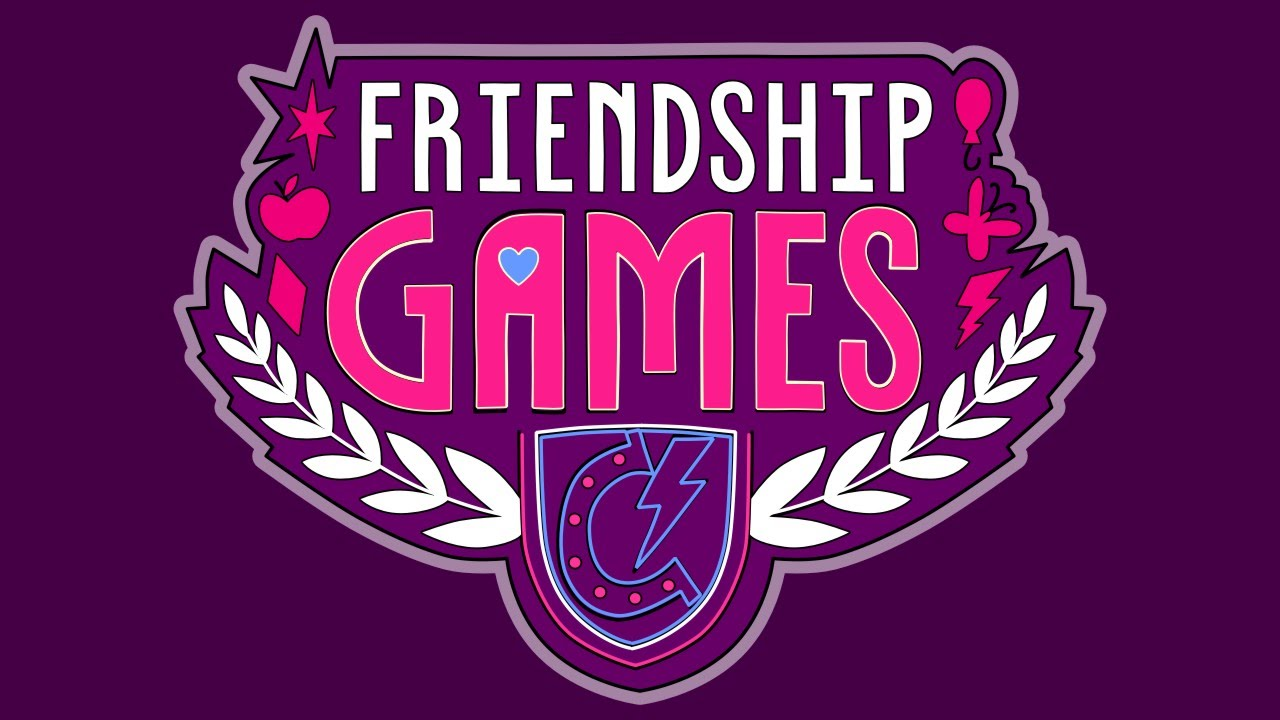 How To Draw Friendship Games Logo My Little Pony Equestria Girls MLP