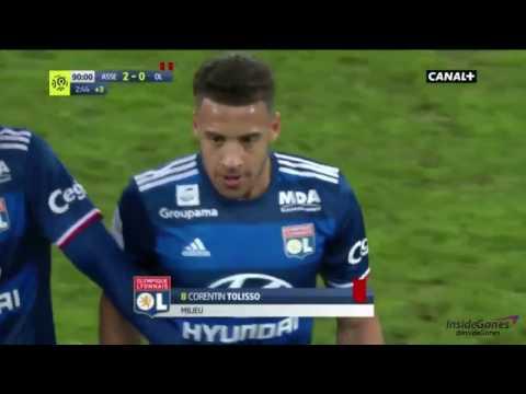LE CARTON ROUGE DE TOLISSO ET L'ÉCHAUFFOURÉE - Match : ASSE - Olympique Lyonnais [HD]