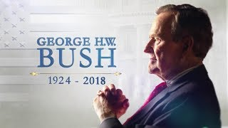Watch live: George H.W. Bush's casket begins final procession at presidential library