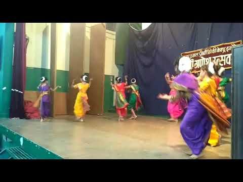 RRCAT Ganesh Utsav 2017 Anushka Soni & group