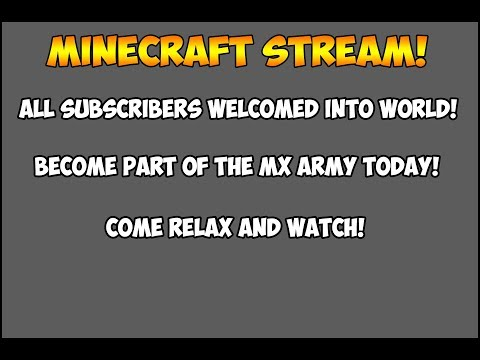 Subscriber World!: Random Projects! Come join and hangout!
