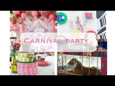 DIY | First birthday Carnival Decor