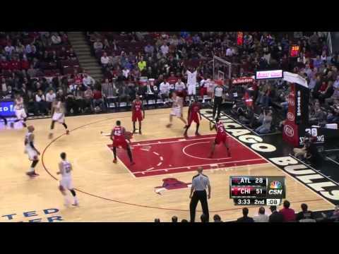 Atlanta Hawks vs Chicago Bulls | February 11, 2014 | NBA 2013-14 Season
