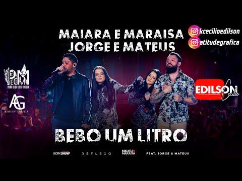 Maiara e Maraísa canta com Jorge e Mateus no novo DVD
