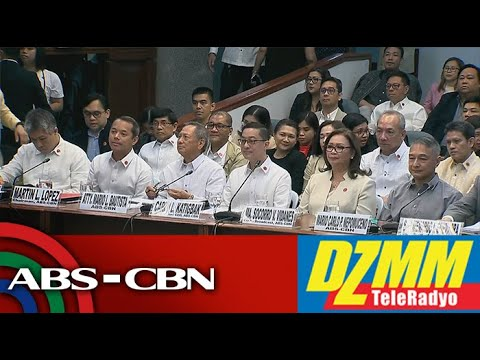 LIVE: Pagdinig Sa Senado Ukol Sa ABS-CBN Franchise