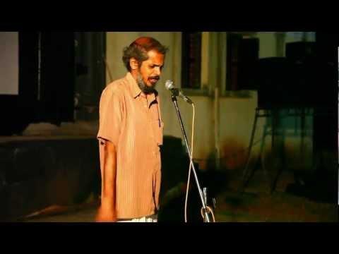 D Vinayachandran Kavitha.. singar ramachandran.At Vibgyor Film Festival cultural night.. mp4