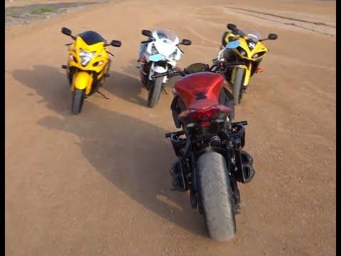 Yamaha Vmax Top Speed Run