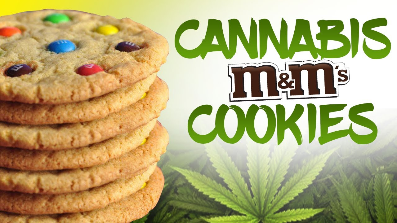How To Make Cannabis M M Cookies Weed Cookies Video Bakery