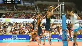 Brazil vs Puerto Rico -  FIVB Volleyball World League