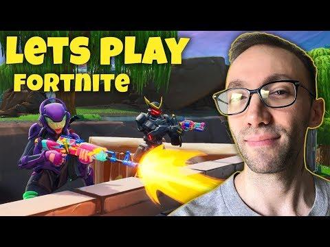 Lets Play Fortnite - یک دست دو نفره دیگه تو فورتنایت