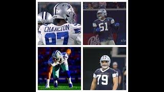 Taco Charlton & Dallas Cowboys D-line Dominate The Texans || Preseason Breakdown