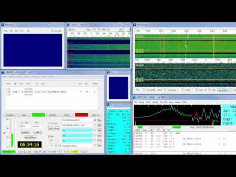 Moonbounce QSO between KK6FAH and FW5JJ - Location: Wallis and Futuna Islands
