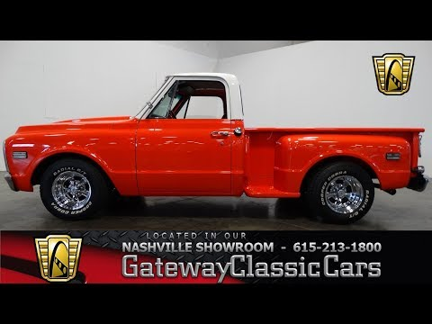1972 Chevrolet C10 Pickup, Gateway Classic Cars Nashville#566