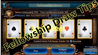 Legacy Of discord- Fellowship Poker Draw Game Tips