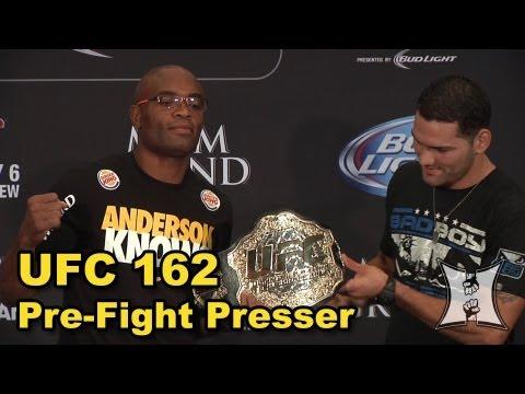 UFC 162 Pre-Fight Press Conference: Anderson Silva Vs Chris Weidman (LIVE! / Complete + Unedited)
