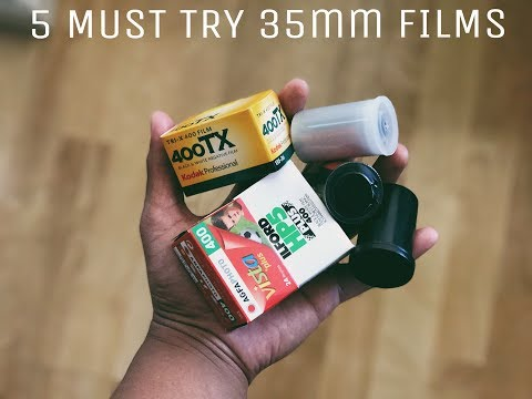 5 MUST TRY 35MM FILMS!
