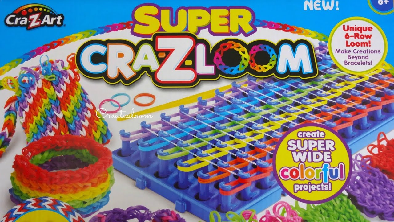 Super Cra Z Loom Opening And Review Youtube
