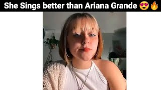 My Sister Sings Better Than Ariana Grande ( Part 2 )