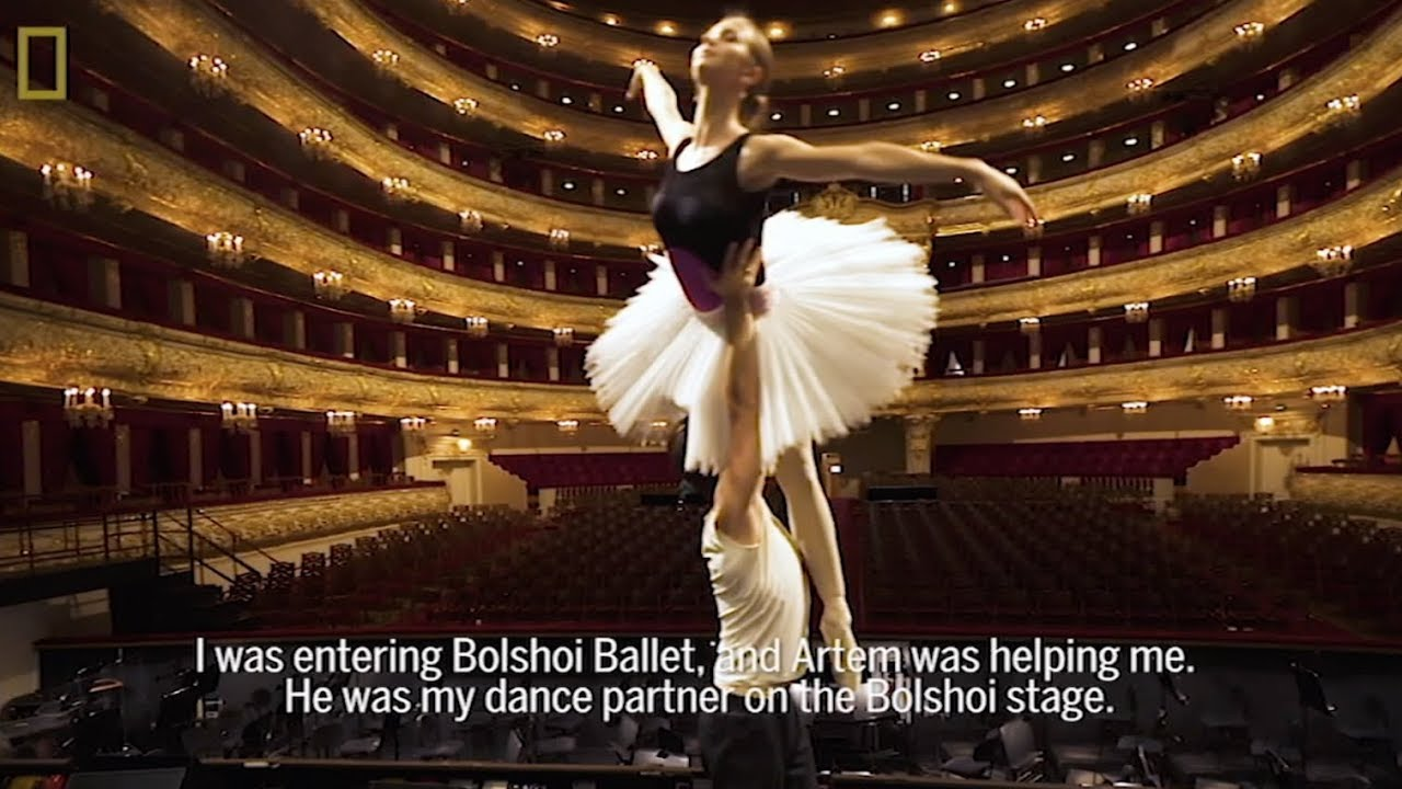 BOLSHOI BALLET - for National Geographic