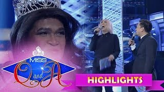 It's Showtime Miss Q and A: Vice Ganda meets President Ganda once again