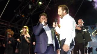 Alfie Boe & Michael Ball - Suspicious Minds-  Euston Hall, Thetford 24.06.17 HD