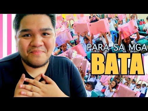 Namigay ng SCHOOL SUPPLIES sa mga BATA #Blessed | LC VLOGS #113