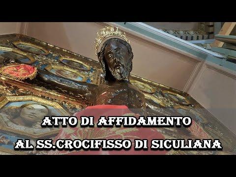 Atto di Affidamento al SS. Crocifisso di Siculiana (AG)