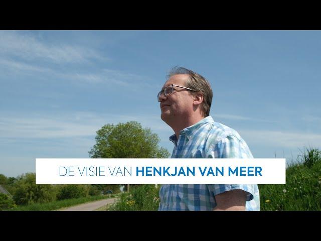 De visie van Henkjan van Meer (Unie van Waterschappen) | Transitieteam Circulaire Bouweconomie