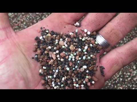 DIY - aerate - grass seed - fertilizer