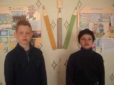Изображение предпросмотра прочтения – «Байрачинские ребята» читают произведение «Русские народные потешки» (Русский фольклор )