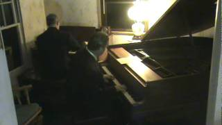 Hammond Organ Steinway Piano Soft Lights and Sweet Music