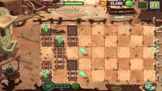 Plants vs Zombies 2: Wild West Day 12 Walkthrough