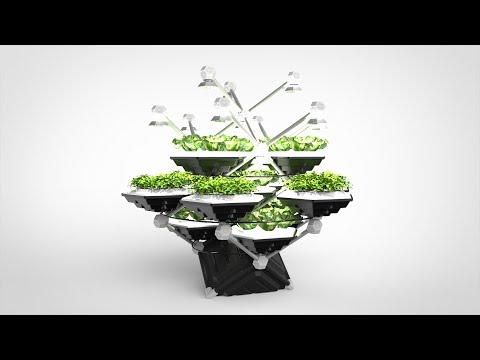 Hexagro - The Living Farming Tree