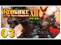 Romance of the Three Kingdoms XIII #03 (VAMOS JOGAR) Lu Bu Irmão! [Gameplay Português PT-BR]