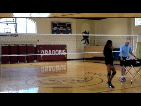 Aaliyah Burras #14 | Newman High School | Skills Video
