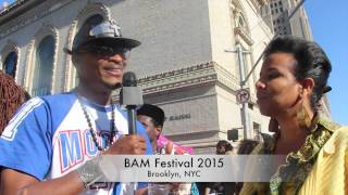 Red and Blue Pill speak at BAM Festival with Black Businesses
