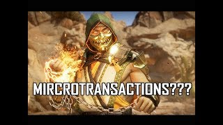 Mortal Kombat 11 Character Customizations - Will There be Microtransactions? + Scorpion Gameplay